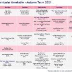 Autumn Term 2021 Co Curricular Timetable Ks5